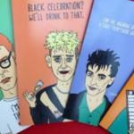 Postales ilustradas de Depeche Mode, PJ Harvey y Kate Bush